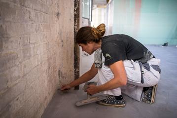 Audrey Liszweski - betonvloer Nederland
