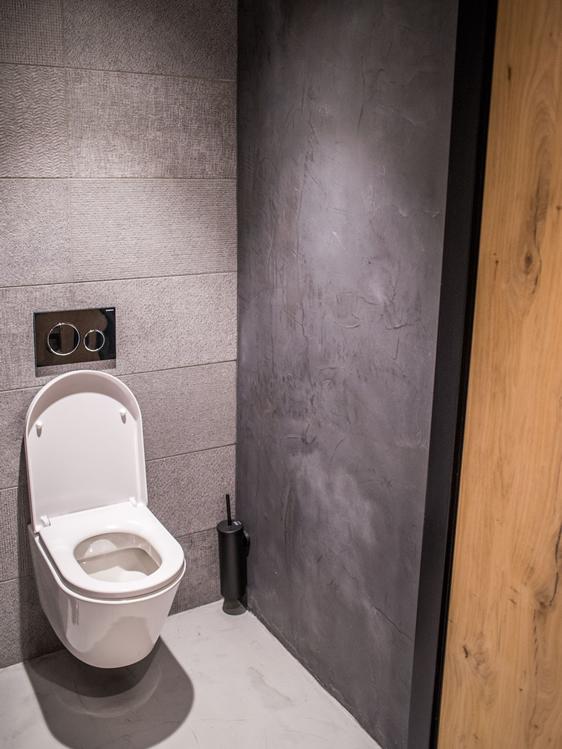 Groter In Wonen.Balie Toiletgroep Beton Cire Audrey S Beton Design