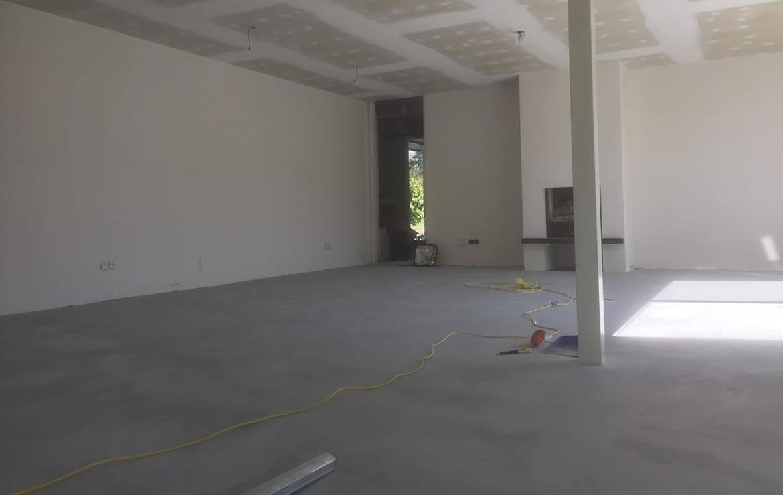 Audreys beton design - beton cire vloer te lanaken opdrachtgever Arno Meijs